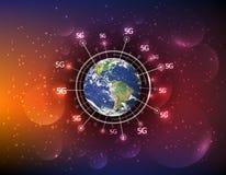 最佳的企业概念全球互联网 免版税库存照片