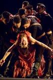 最佳的佛拉明柯舞曲舞蹈戏曲: 卡门 库存照片