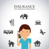 最佳的保险概念象 图库摄影