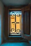 最佳的内部kasbah摩洛哥ouarzazate taourirt 瓦尔扎扎特 摩洛哥的最好 免版税库存图片