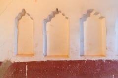 最佳的内部kasbah摩洛哥ouarzazate taourirt 瓦尔扎扎特 摩洛哥的最好 库存照片