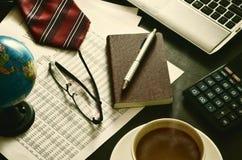 最佳的办公室Stiil寿命07 免版税库存图片