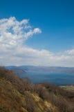最佳的北海道日本湖mashu一安置观光 图库摄影