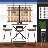 最佳的咖啡店设计 免版税图库摄影