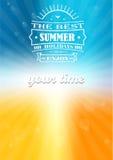 最佳的夏天和最佳的暑假 图库摄影