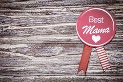 最佳的妈妈母亲节或婴儿送礼会 免版税库存图片