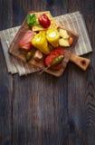 最佳的开胃小菜板材 免版税库存照片