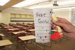 最佳的教师 免版税库存照片