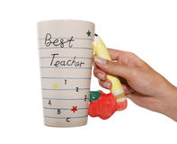 最佳的教师 库存图片