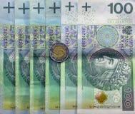 最佳的波兰货币 图库摄影