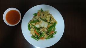 最佳的泰国许基食谱 库存图片