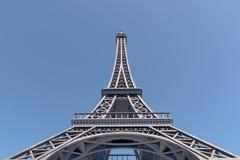 巴黎最佳的目的地在欧洲 埃佛尔铁塔 10K 3D翻译 库存图片