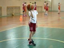 最佳的篮球 免版税库存照片