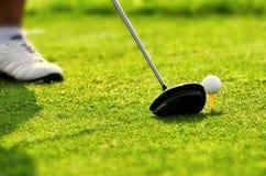 最佳的高尔夫球图片系列 图库摄影