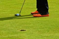 最佳的高尔夫球图片系列 库存照片