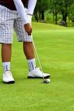 最佳的高尔夫球图片系列 免版税图库摄影