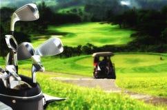 最佳的高尔夫球图片系列 免版税库存图片