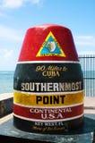 最南端的点 免版税图库摄影