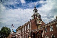 最历史的区区域在宾夕法尼亚,费城 免版税库存照片