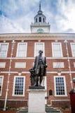 最历史的区区域在宾夕法尼亚,费城 库存照片