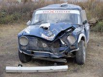 最后的杯autocross的俄罗斯 库存照片