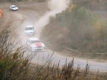 最后的杯autocross的俄罗斯 库存图片