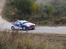最后的杯autocross的俄罗斯 图库摄影