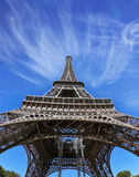 最响誉在世界上-艾菲尔铁塔 免版税图库摄影