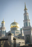 最大和最高的清真寺在欧洲-莫斯科,俄罗斯 库存照片