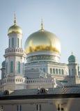 最大和最高的清真寺在欧洲-莫斯科,俄罗斯 库存图片