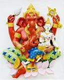 最大在GANESHA阁下雕象世界。 库存图片