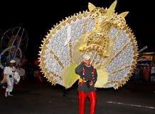 最大的万圣夜游行 免版税库存照片
