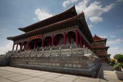 最大的中国寺庙 图库摄影