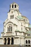 最大的保加利亚大教堂 库存图片