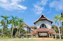 最大的博物馆在东南亚 免版税图库摄影