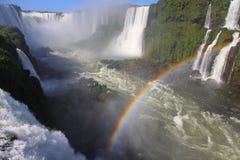 最大的地球瀑布 库存照片