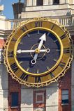最大的时钟世界 库存照片