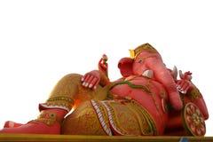 最大的桃红色ganesha 库存图片