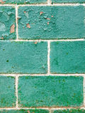最大的正方形的绿色纹理 库存图片