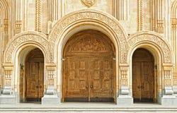 大教堂st.三位一体 免版税库存照片