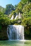 最大的泰国瀑布 免版税库存图片