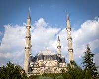 最大的清真寺在土耳其 免版税库存图片