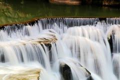最大的瀑布在台北,台湾 库存图片