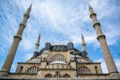 最大的爱迪尔内清真寺selimiye火鸡 图库摄影