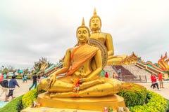 最大的菩萨雕象在泰国 免版税库存图片