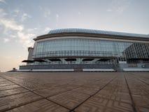 最大的赌博娱乐场的赌博娱乐场Kursaal一的图象在欧洲 库存图片