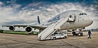 最大的飞机在世界上 免版税图库摄影