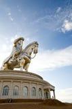 最大的chinghiskhan雕象世界 库存照片