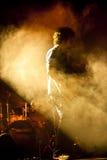 最大音乐会的gazze 库存图片