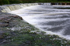 最宽的瀑布在欧洲 免版税库存照片